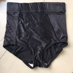 Other - Black Silky Shapewear Underwear Spandex